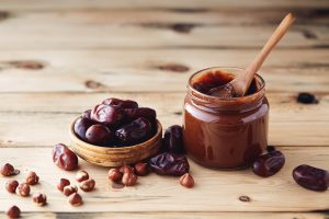 dates and nut butter
