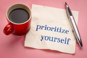 how to prioritize yourself