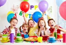 Sugar Free Kids Birthday Party