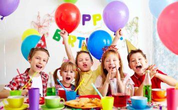 Sugar Free Kids Birthday Party