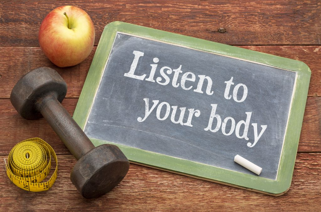 how to listen to your body