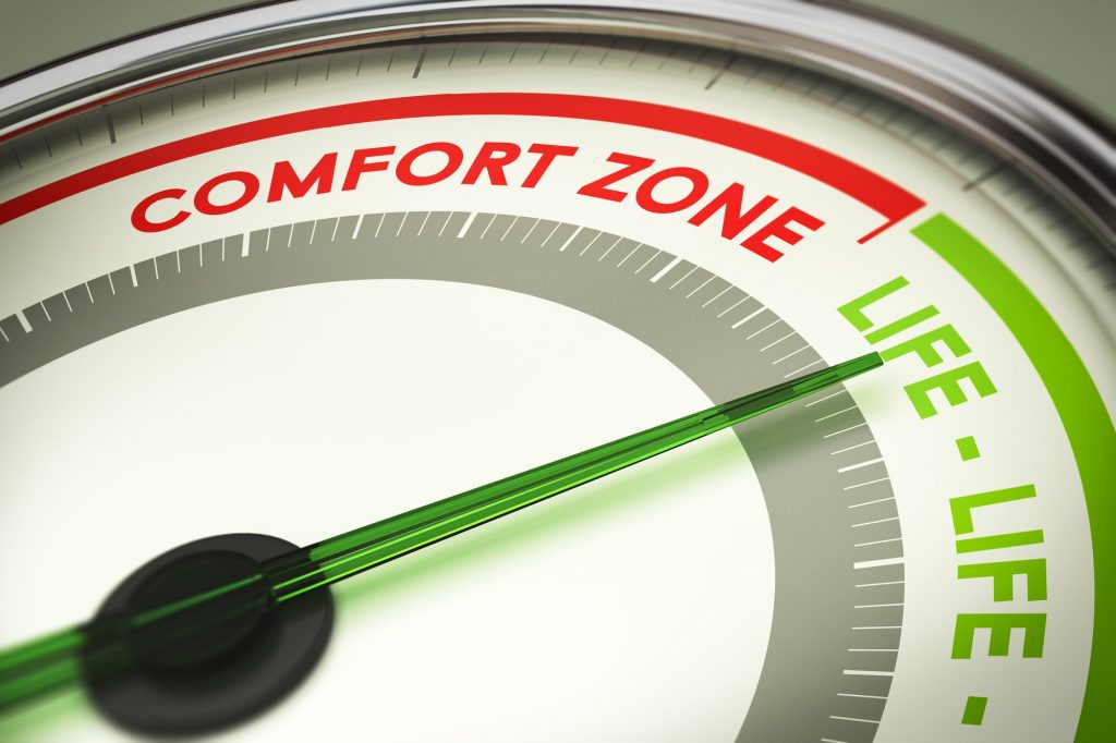 uncertainty out of your comfort zone