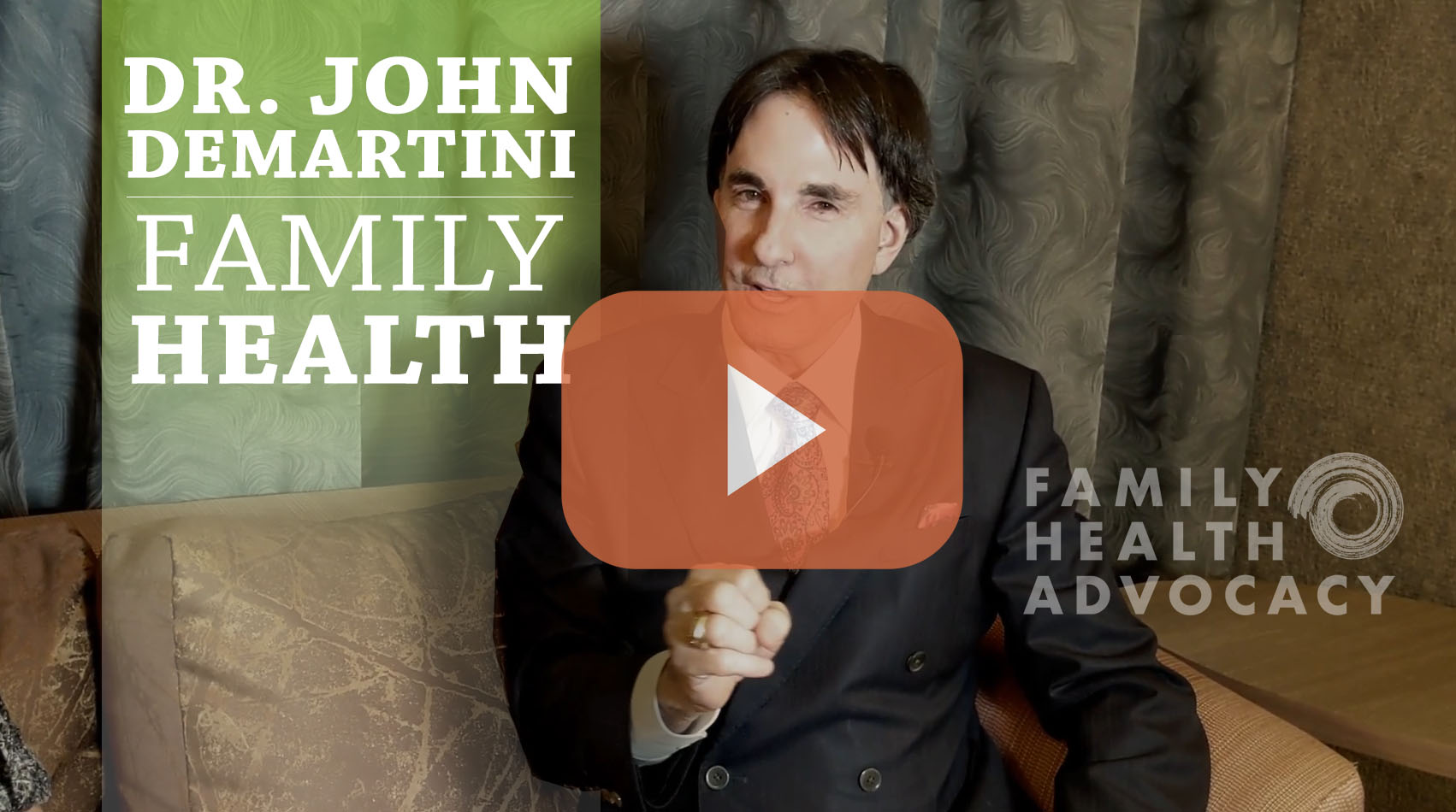 Dr. John Demartini Discusses Mental Health, ADD, Family Relationships
