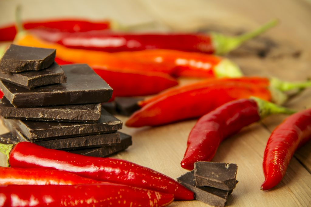 dark chocolcate chili
