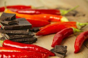 dark chocolcate chili
