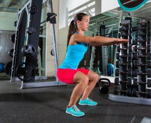 prenatal squat