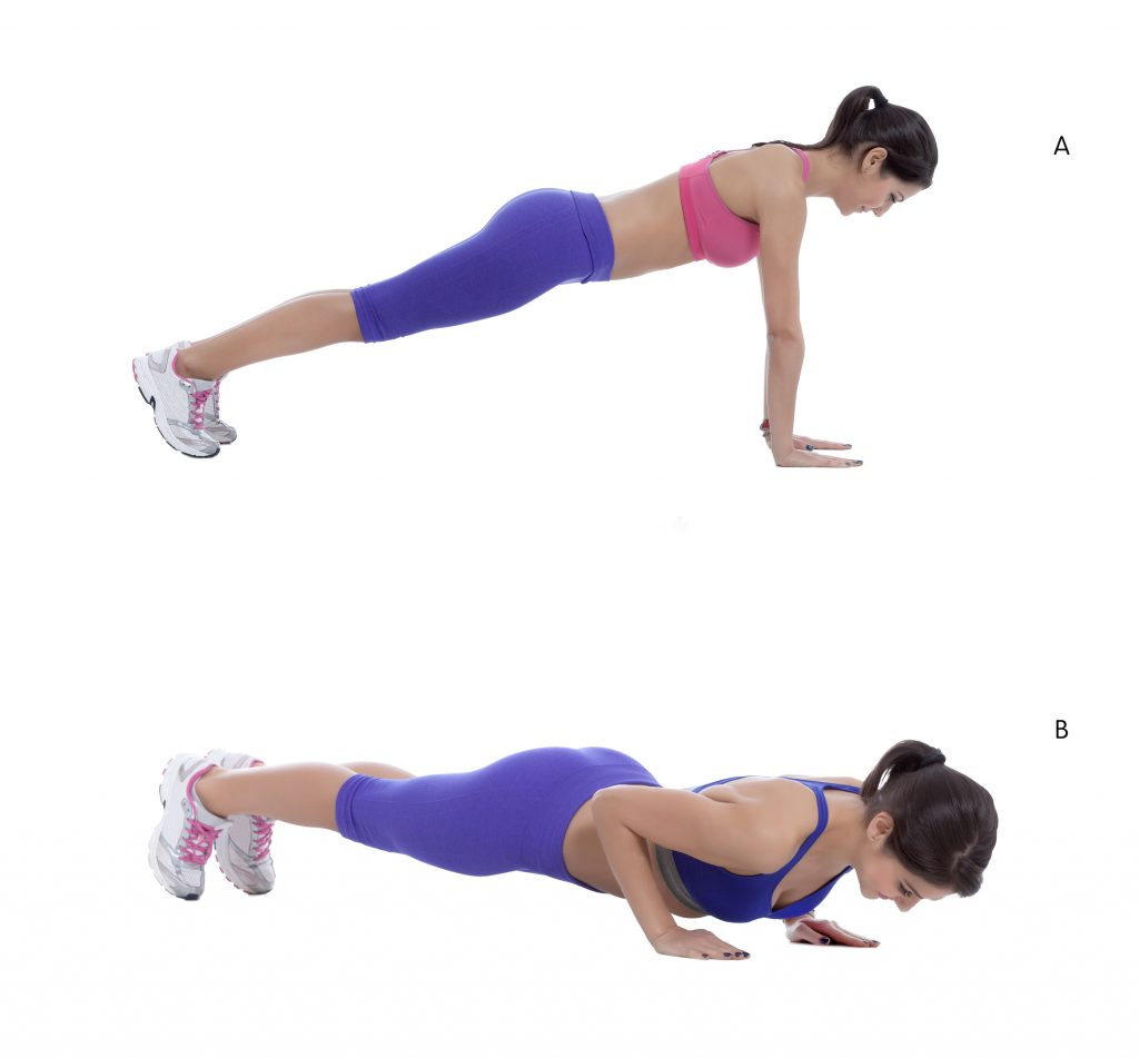 prenatal push ups